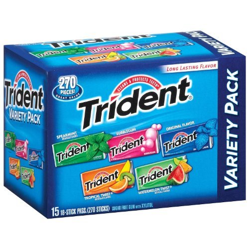 Trident Variety Pack Sugarfree Gum