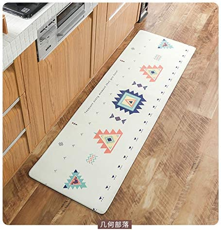 YOMIMAX Kitchen Rug, 1 Piece Creative Non-Slip Kitchen Mat Rubber Backing Doormat Cartoon Pattern Design Runner Rug 18 60