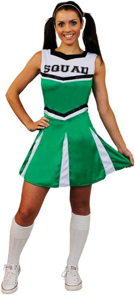 I LOVE FANCY DRESS LTD Damas Verde Escuela Secundaria Animadora ...
