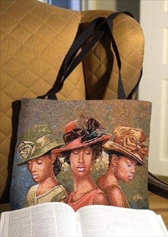 Faith Hope & Love Rectangle Tote Bag