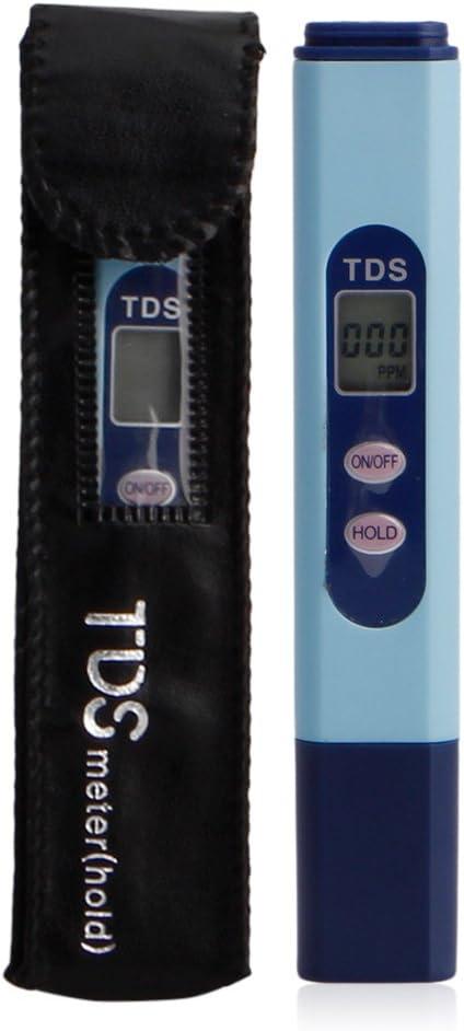 Nankod LCD TDS Testeur de Salinit/é Num/érique pour Eau de Salinit/é de Piscine Moniteur de Puret/é de leau