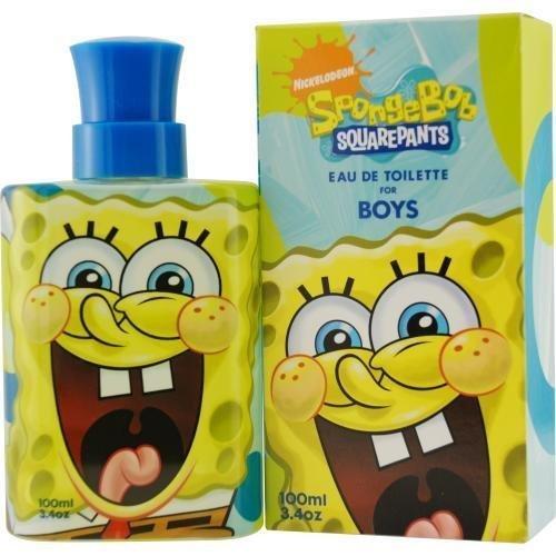 SPONGEBOB SQUAREPANTS by Nickelodeon SPONGEBOB EDT SPRAY 3.4 OZ (10TH ANNIVERSARY EDITION) for MEN by Nickelodeon
