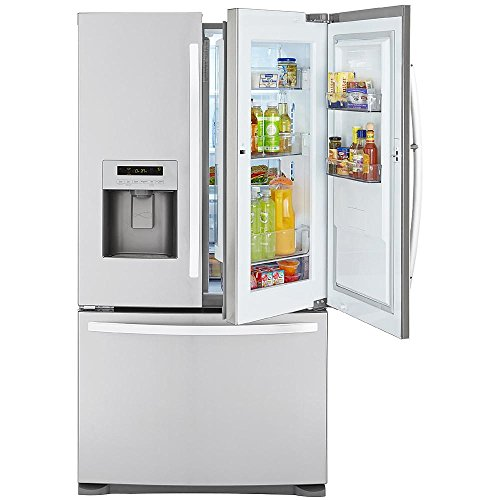 Buy stainless steel refrigerator bottom freezer