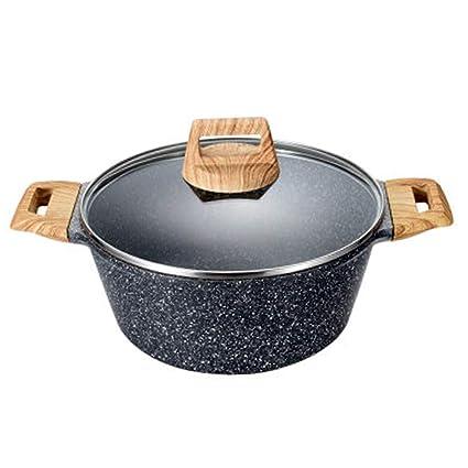 Woks Ollas para Pasta Olla de Sopa Olla de Sopa nutritiva Olla de Sopa de Piedra