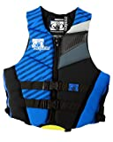 Body Glove Men's Phantom U.S. Coast Guard Approved Neoprene Pfd Life Vest (Royal Blue/Black, Small)
