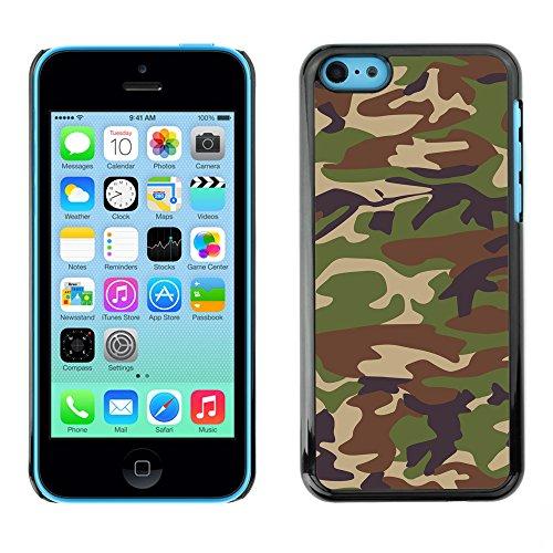 Premio Sottile Slim Cassa Custodia Case Cover Shell // V00002746 Camouflage // Apple iPhone 5C
