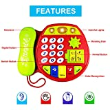 Telephone Toy for 3-12 Month Baby, Toy Phone Gift