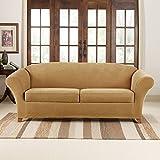 SureFit SF43514 Stretch Pique Box Cushion