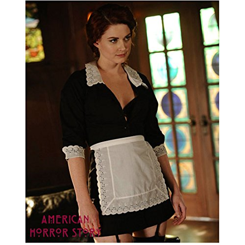 American Horror Story Alexandra Breckenridge as Young Moira Looking Naughty 8 x 10 Inch Photo -
