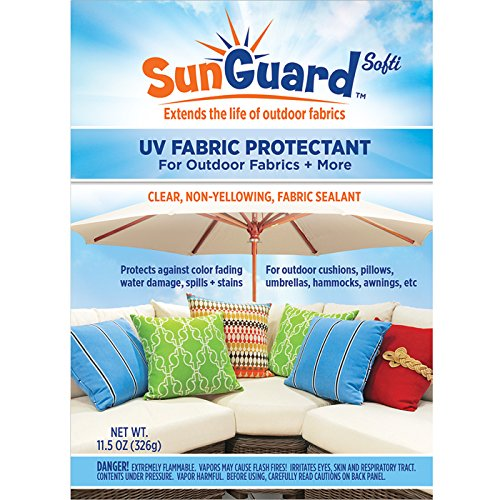 SUNGUARD Fabric UV Protectant and Sealant Spray (3 Pack) for Garden and Home Prevents Fading Spills & Stains by SUNGUARD (Image #1)