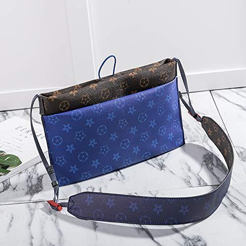 Seasons Print Unisex Europe Fashion America Blue Youth Shoulder Influx Bags Zq Messenger Wild Bag And Men 2018 x6O8FBTwqF
