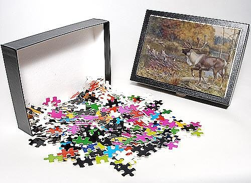 Photo Jigsaw Puzzle Of Caribou/ency. Of Sport