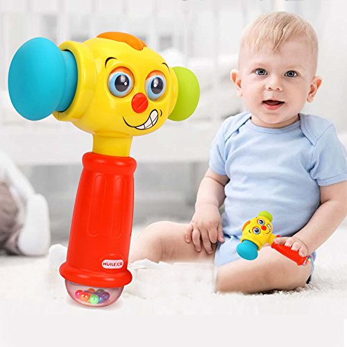 HOMOFY Baby Toys Funny Changeable Hammer Kids Toys for 6...