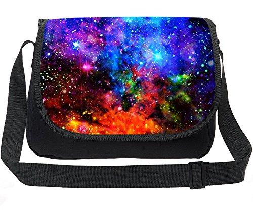 ing Universe Space TrendyMax Galaxy Pattern Shoulder Bag (Galaxy Canvas Shoulder Bag)