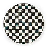 MacKenzie-Childs Courtly Check Enamel Serving Platter 16'' dia.