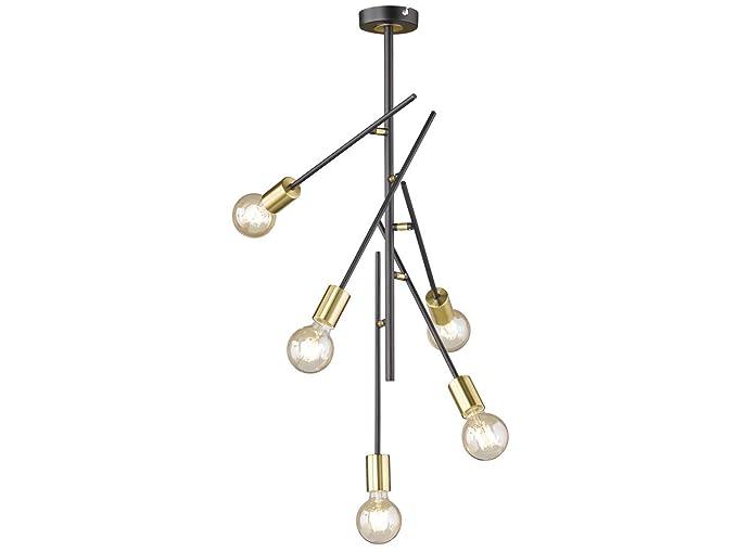 Techo En LedBrazos Orientables De Filamento Lámpara Con Retro PZiTXuOk
