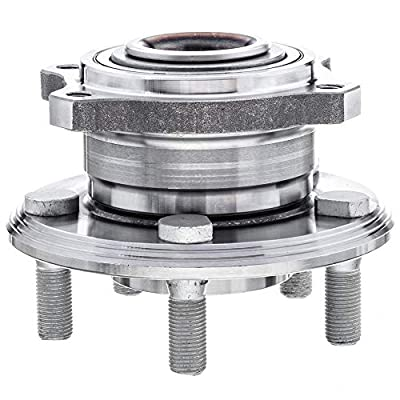 QJZ [2-Pack] 512555 - Rear Driver and Passenger Side Wheel Hub Bearing Assembly for 2015-2020 Chrys 300, 2015-2020 Dodge Challenger, 2015-2020 Dodge Charger [Cross Reference: BR930910, HA590606]: Automotive