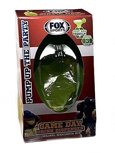 Fox Sport Game Day Margarita Mix Drink Dispenser
