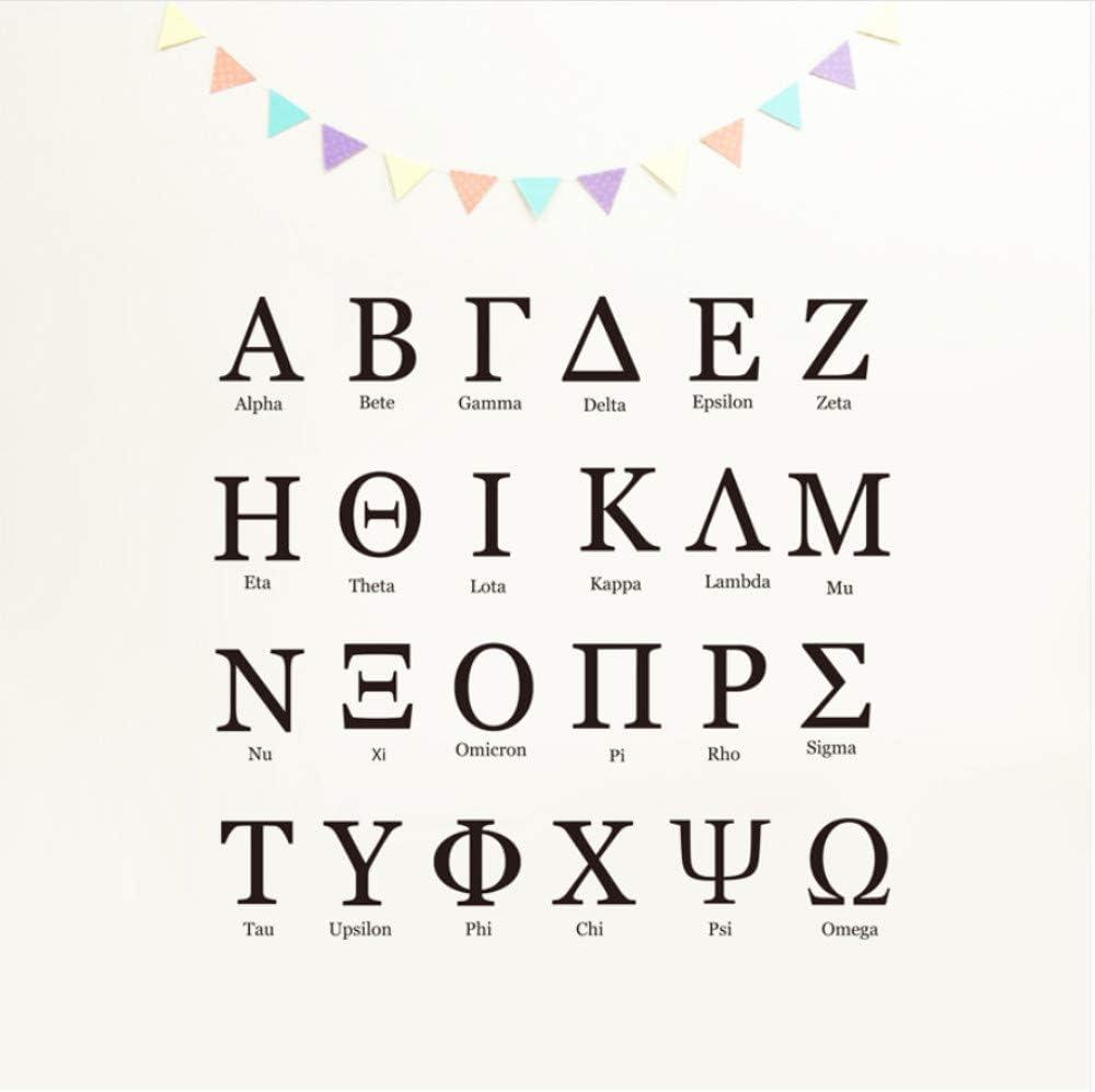 Lambda Vinyle Sticker Autocollant Lettre grecque L-Choisir Taille /& Couleur