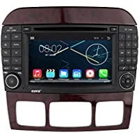 Rupse Android 4.4.4 Car DVD Player For Mercedes-Benz S W220 (1999-2006)/Mercedes-Benz CL W215(1998-2005)With 7 inch HD