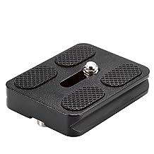Neewer® Black Metal PU-50 Universal Quick Release Plate Fits Arca-Swiss Standard for Tripod Ballhead (PU50 III)