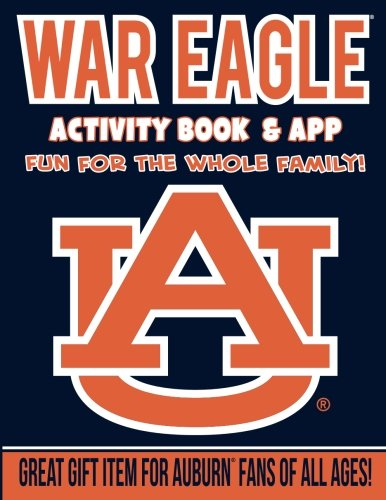 (In The Sports Zone NCAA Auburn Tigers Kids Activity Book, One Size, Orange)