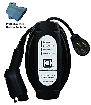 ClipperCreek LCS-20P - 16 amp EV Charging Station, with 14-50 plug, 25 ft cable