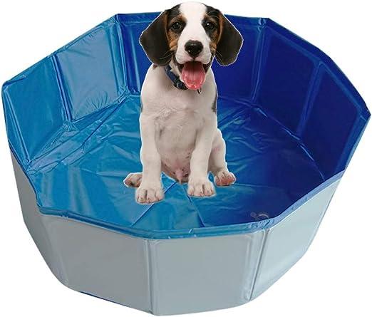Decdeal Piscina Plegable para Perros Baño Portátil para Mascotas ...