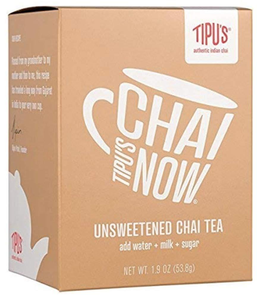 Tipu's Chai Now Unsweetened Chai Tea