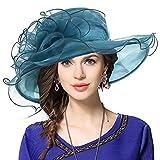 british military hat - JESSE · RENA Women's Church Derby Dress Fascinator Bridal Cap British Tea Party Wedding Hat (S09-Army Green)