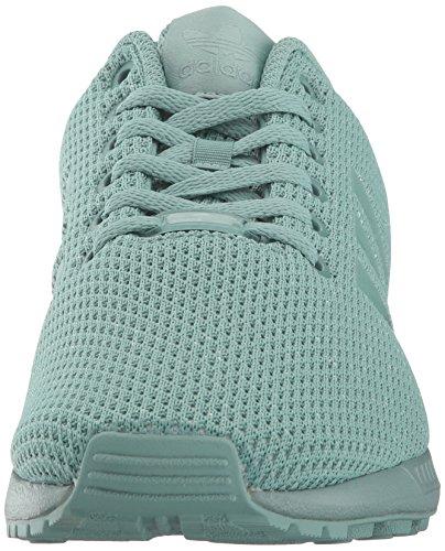 Originaux Adidas Mens En Acier De Vapeur Chaussure En Acier De Vapeur De Mode Flux Zx En Tissu Dacier Vapeur
