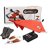 Lanlan DIY Flying Kit Toy Creative Children Electric Power Up Paper Plane Mini Airplane Model (Random Color)