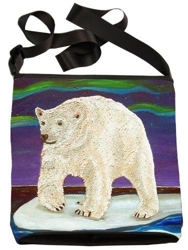 Polar Bear Large Cross Body Bag - Wearable Art, From My O...