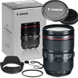 Canon 24–105mm f/4L IS II USM Lens (Reatil Box) Bundle