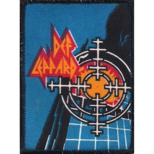 Def Leppard Men's Pyromania Square Screen Printed Patch Black