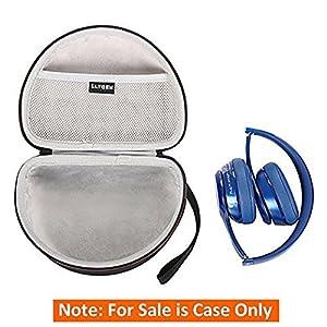 LTGEM Hard Case for Over-Ear Beats Studio/Pro/Solo2/Solo3 Headphone and Sennheiser Headphone