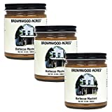 Brownwood Acres Barbeque Mustard - 3 PACK - Shipping Included