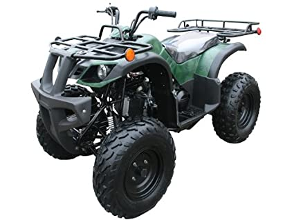 amazon com 150cc four wheelers 23 tires with reverse red automotive