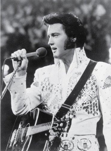 """Elvis Presley Performing - Vintage Photo Art Print (19"""" x 14"""")"""