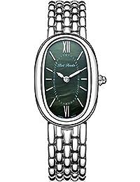 Wrist Watch for Women, Rosegold Fashion Dress Quartz Watch, BETFEEDO Waterproof Analog Watch (Green)