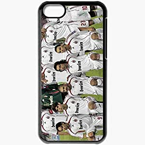Personalized iPhone 5C Cell phone Case/Cover Skin Ac milan a c Black