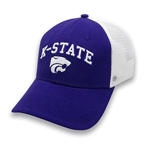 NCAA Kansas State Wildcats Adult The Game Everyday Trucker Mesh Hat, Adjustable, Purple