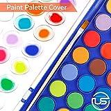 2 Pack Watercolor Paint Set 12 Vivid Colors