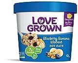 Love Grown Hot Oats, Gluten Free Blueberry Banana Walnut, 2.22 Ounce (Pack of 8)