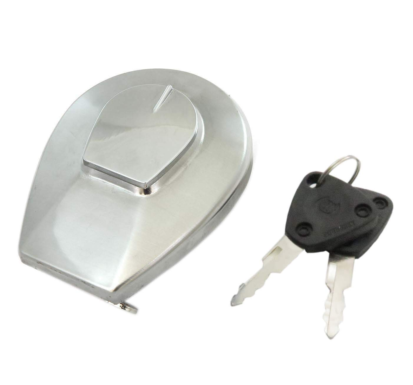17620-MB1-033 Motorcycle Fuel Gas Cap Tank Cover with 2 Keys for Honda VF750C VF750 VF 750 700 Fuel Tank Cap