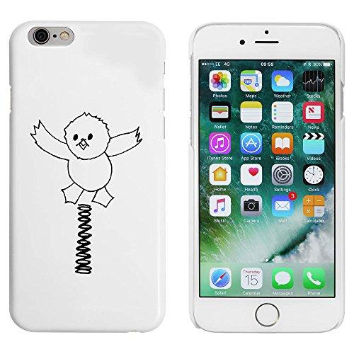 Blanc 'Ressort et Poulet' étui / housse pour iPhone 6 & 6s (MC00021682)