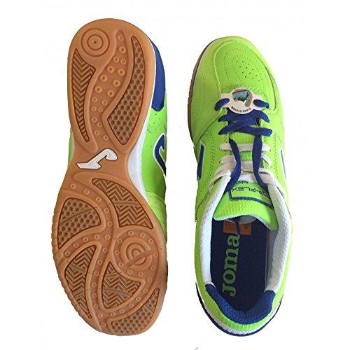Zapatillas de Fútbol JOMA FLEX 515 INDOOR GREEN TOP Verde
