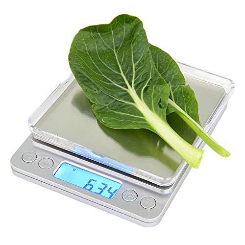 Digital kitchen scale pocket cooking and baking for Professional food scale