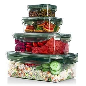 Amazon.com: ME.FAN Tritan Plastic Food Storage Containers