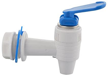 Ampereus Plastic Aqua Fine Kent Tap (White and Blue)